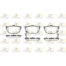 Bremsbelagsatz, Scheibenbremse Höhe: 46,5mm, Dicke/Stärke: 14,6mm mit OEM-Nummer 58202 28A00