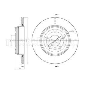 METELLI  23-0815C Bremsscheibe Bremsscheibendicke: 20,0mm, Lochanzahl: 5, Ø: 320,0mm