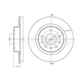 Bremsscheibe 23-1205C ZAFIRA B (A05) 1.7 CDTI (M75) Bj 2009