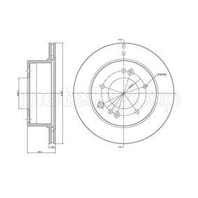 Bremsscheibe Bremsscheibendicke: 20,0mm, Lochanzahl: 5, Ø: 314,9mm mit OEM-Nummer 5 841 13 E300