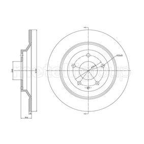 Disco de freno 23-1456C CX-5 (KF) 2.2 D AWD ac 2019