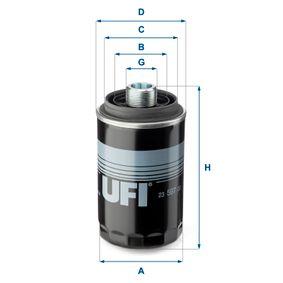 Ölfilter Ø: 76,0mm, Außendurchmesser 2: 57,0mm, Innendurchmesser 2: 49,0mm, Höhe: 143,0mm mit OEM-Nummer 06J115561B