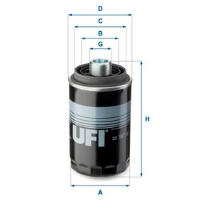 Ölfilter Ø: 76,0mm, Außendurchmesser 2: 57,0mm, Innendurchmesser 2: 49,0mm, Höhe: 143,0mm mit OEM-Nummer 06J 115 561 B