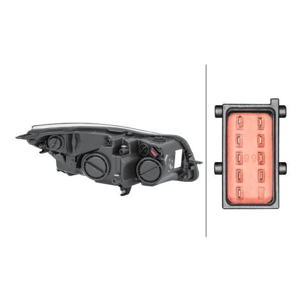 Frontscheinwerfer HELLA 1EJ 009 630-311 Bewertung