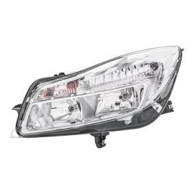 Hauptscheinwerfer für Fahrzeuge ohne Xenon-Licht, für Rechtsverkehr mit OEM-Nummer 1216740