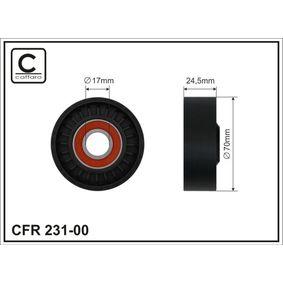 Spannrolle, Keilrippenriemen Breite: 24,5mm mit OEM-Nummer 11287512758