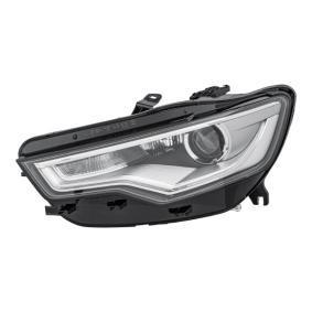 Hauptscheinwerfer für Fahrzeuge mit adaptiver Fernlichtregulierung, für Fahrzeuge mit Kurvenlicht, für Fahrzeuge mit Xenon-Licht, für Linksverkehr, für Rechtsverkehr mit OEM-Nummer 4G0941031