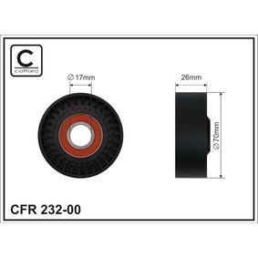 Spannrolle, Keilrippenriemen Breite: 26mm mit OEM-Nummer 7 512 758