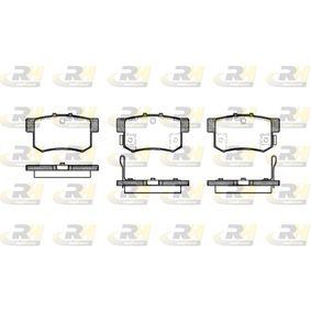 Fékbetét készlet, tárcsafék 2325.22 SWIFT 3 (MZ, EZ) 1.3 4x4 (RS 413) Év 2019