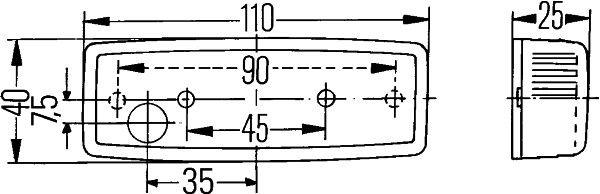 Seitenmarkierungsleuchte HELLA E186 Bewertung