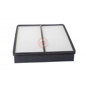 Filter, Innenraumluft Länge: 226mm, Breite: 204mm, Höhe: 40mm mit OEM-Nummer 66809903
