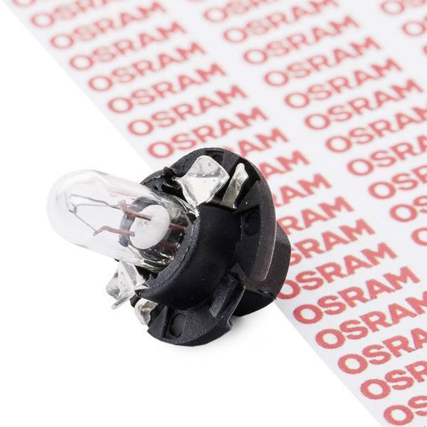 Glühlampe, Instrumentenbeleuchtung OSRAM 2351MFX6 Erfahrung