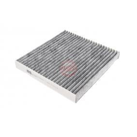 Filter, Innenraumluft Länge: 224mm, Breite: 234mm, Höhe: 30mm mit OEM-Nummer 80292 SDA A01