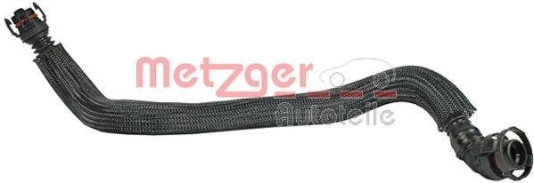 METZGER  2380052 Schlauch, Kurbelgehäuseentlüftung