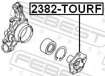 Radnabe FEBEST 2382-TOURF Bewertung