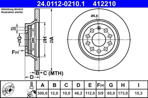 Scheibenbremsen ATE 24.0112-0210.1 Bewertung