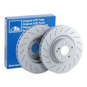 Brake Disc 24.0132-0168.1 E-Class Saloon (W212) E 350 3.5 (212.059) MY 2012