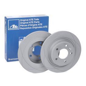 ATE PowerDisc 24.0312-0189.1 Bremsscheibe Bremsscheibendicke: 12,0mm, Lochanzahl: 5, Ø: 292,0mm