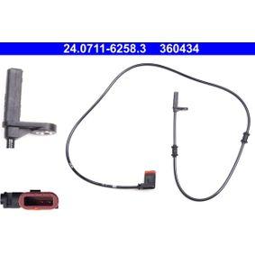 ATE Sensor, wheel speed Rear Axle Right