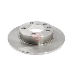 Bremsscheibe Bremsscheibendicke: 9,0mm, Lochanzahl: 5, Ø: 230,0mm mit OEM-Nummer 1J0 615 601C