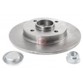 Bremsscheibe Bremsscheibendicke: 9,0mm, Lochanzahl: 4, Ø: 249,0mm mit OEM-Nummer 4249 34
