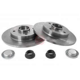 Bremsscheibe Bremsscheibendicke: 9,0mm, Lochanzahl: 4, Ø: 249,0mm mit OEM-Nummer 4249 66
