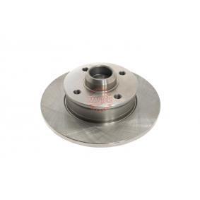 Bremsscheibe Bremsscheibendicke: 10,0mm, Lochanzahl: 4, Ø: 226mm mit OEM-Nummer 6N0.615.601
