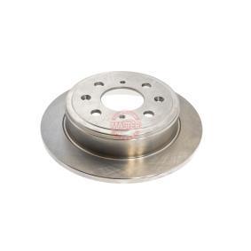 Спирачен диск дебелина на спирачния диск: 10мм, брой на дупките: 4, Ø: 238,5мм с ОЕМ-номер GBD90817