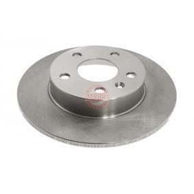 Bremsscheibe Bremsscheibendicke: 9,8mm, Lochanzahl: 5, Ø: 264,0mm mit OEM-Nummer 90 575 113