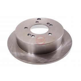 Bremsscheibe Bremsscheibendicke: 10,0mm, Lochanzahl: 5, Ø: 284,0mm mit OEM-Nummer 58411 3A300