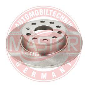 Bremsscheibe Bremsscheibendicke: 9,7mm, Lochanzahl: 9, Ø: 272,0mm, Ø: 272mm mit OEM-Nummer 1K0.615.601AA