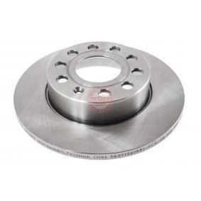 Bremsscheibe Bremsscheibendicke: 12,0mm, Lochanzahl: 5, Ø: 256,0mm mit OEM-Nummer 1K0.615.601L
