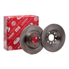 Bremsscheibe Bremsscheibendicke: 12,0mm, Lochanzahl: 5, Ø: 282,0mm mit OEM-Nummer 1K0615601M