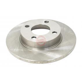 Bremsscheibe Bremsscheibendicke: 13,0mm, Lochanzahl: 4, Ø: 256,0mm mit OEM-Nummer 431615301