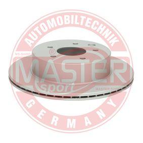 2011 Nissan Qashqai j10 1.6 Brake Disc 24011601191-PCS-MS
