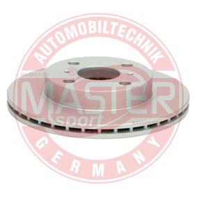 Bremsscheibe Bremsscheibendicke: 17,9mm, Lochanzahl: 4, Ø: 235mm mit OEM-Nummer 43512 52050