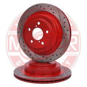 Bremsscheibe Bremsscheibendicke: 18,0mm, Lochanzahl: 5, Ø: 290,0mm mit OEM-Nummer 26700AE080