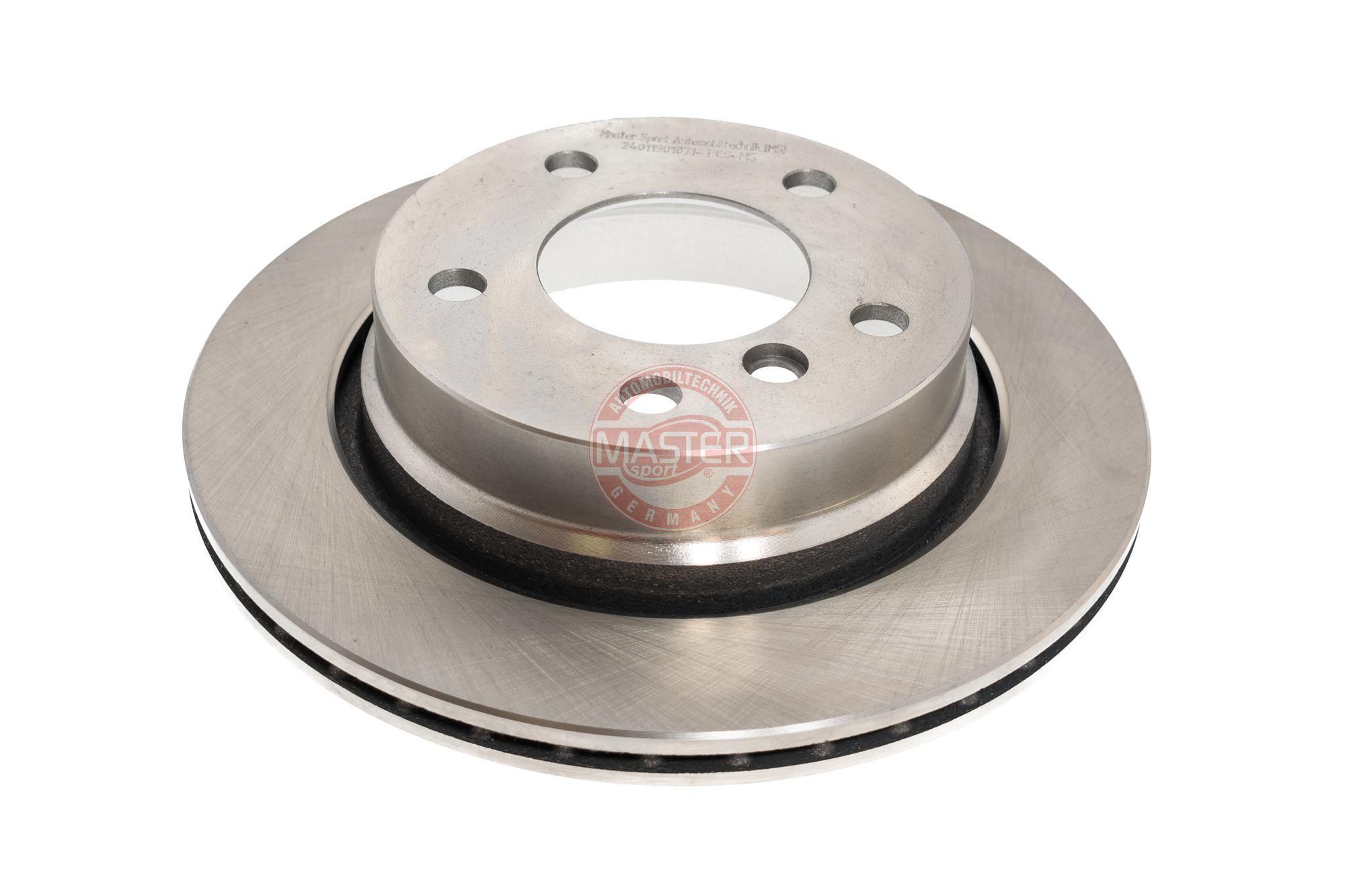 Bremsscheiben 24011901071-PCS-MS MASTER-SPORT 211901070 in Original Qualität