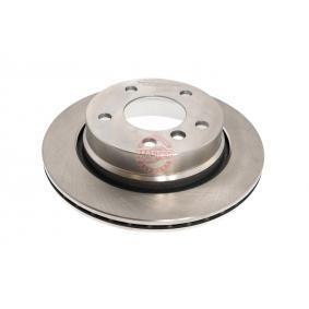 Bremsscheibe Bremsscheibendicke: 19,0mm, Lochanzahl: 5, Ø: 276,0mm mit OEM-Nummer 34216855155