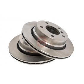 Bremsscheibe Bremsscheibendicke: 19,0mm, Lochanzahl: 5, Ø: 276mm mit OEM-Nummer 34216864903
