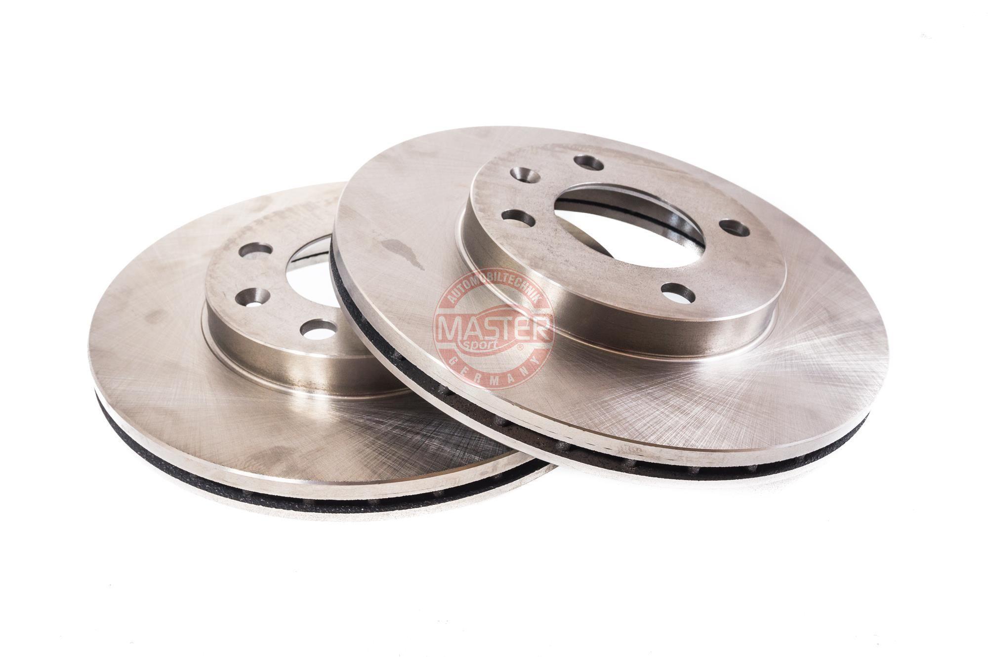 Bremsscheiben 24012001231-SET-MS MASTER-SPORT 212001231 in Original Qualität