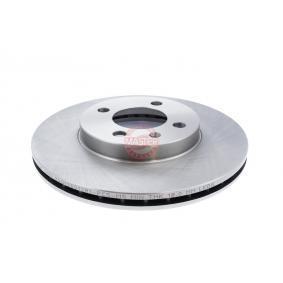 Bremsscheibe Bremsscheibendicke: 20,0mm, Lochanzahl: 4, Ø: 256,0mm mit OEM-Nummer 6N0615301D