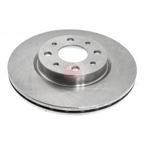 Bremsscheibe Bremsscheibendicke: 20,0mm, Lochanzahl: 4, Ø: 257,5mm mit OEM-Nummer 5 174 912 4
