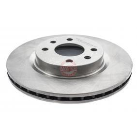 Bremsscheibe Bremsscheibendicke: 20,7mm, Lochanzahl: 4, Ø: 259,0mm mit OEM-Nummer 77 01 204 828