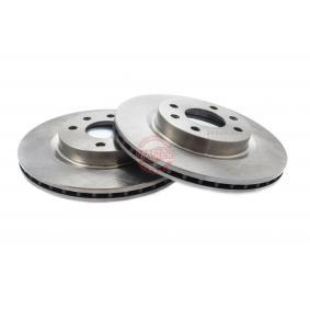 Bremsscheibe Bremsscheibendicke: 20,7mm, Lochanzahl: 4, Ø: 259,0mm mit OEM-Nummer 8671 005 976