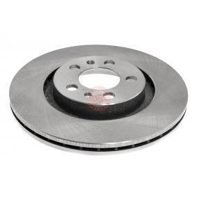 Bremsscheibe Bremsscheibendicke: 22,0mm, Lochanzahl: 5, Ø: 280,0mm mit OEM-Nummer 1J0 615 301 P