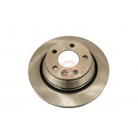 Bremsscheibe Bremsscheibendicke: 22,0mm, Lochanzahl: 5, Ø: 256,0mm mit OEM-Nummer 6QD 615 301