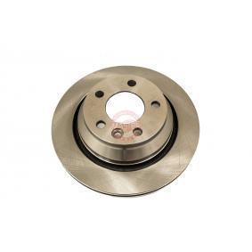 Bremsscheibe Bremsscheibendicke: 22,0mm, Lochanzahl: 5, Ø: 256,0mm, Ø: 256mm mit OEM-Nummer 6QD 615 301
