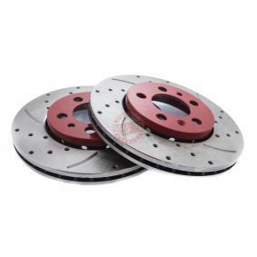 Bremsscheibe Bremsscheibendicke: 22,0mm, Lochanzahl: 5, Ø: 256,0mm, Ø: 256mm mit OEM-Nummer 6R0 615 301C