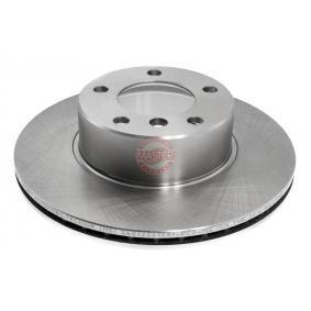 Bremsscheibe Bremsscheibendicke: 22,0mm, Lochanzahl: 5, Ø: 296,0mm mit OEM-Nummer 34111164839